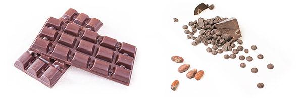 чист шоколад и ръчно направен блог
