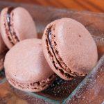 Френски макарон с шоколадов ганаш