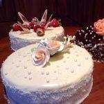Тематични торти с крем маскарпоне и пресни плодове